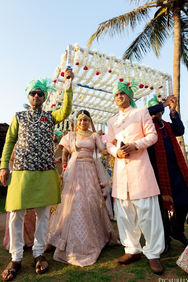 Grand Wedding at the Caravela Beach Resort Wedding