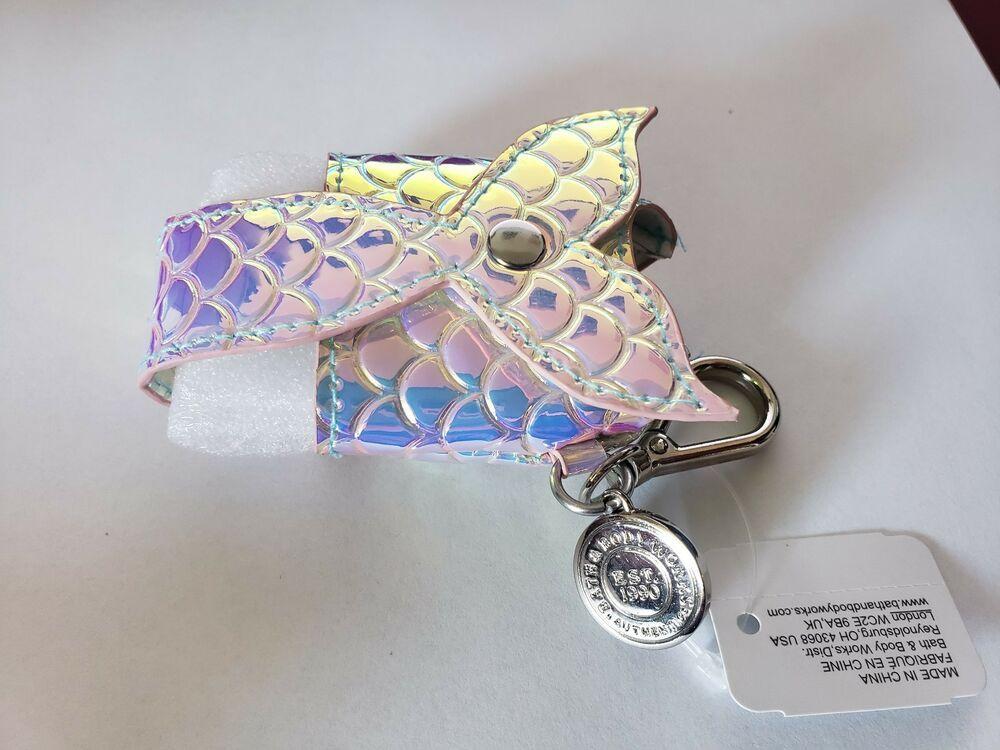 Silver Mermaid Tail Scales Bath Body Works Pocketbac Hand