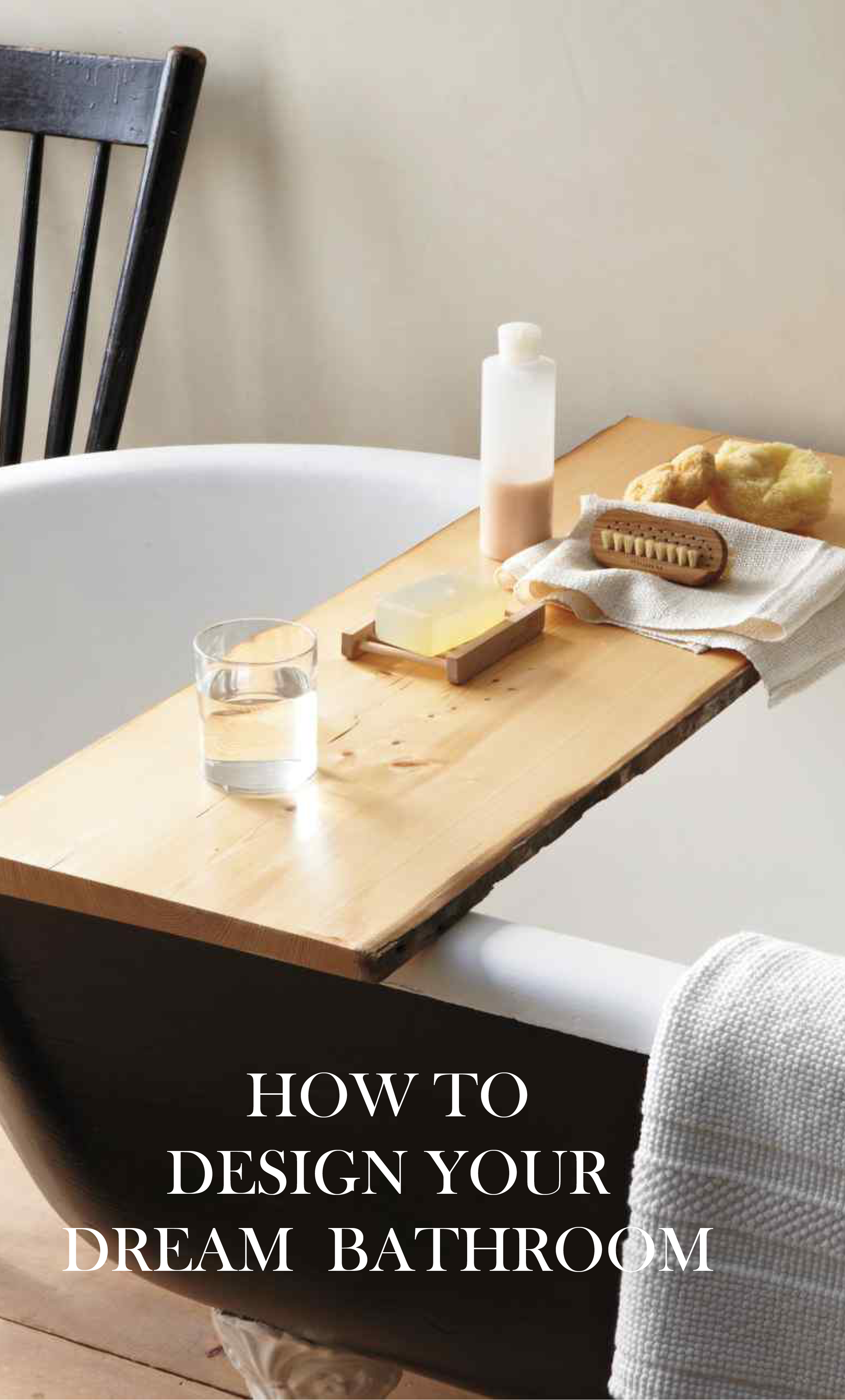 Think Spa | Martha Stewart Living - Make all your bathing experieces, luxurious moments of pampering.