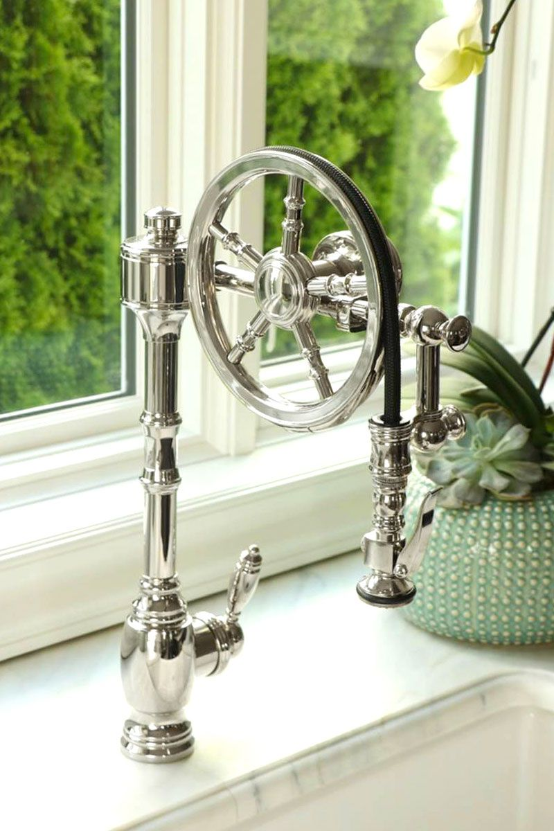Waterstone Wheel Pulldown Faucet 5100 Sn Pulldown Faucet Faucet