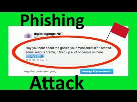 What Is A Phishing Attack? | Website Tutorials | Website