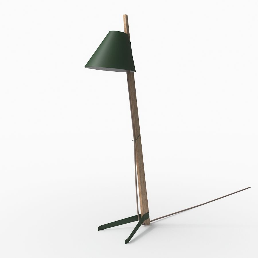 3dmodel BILLY BL Floor Lamp By J.T. Kalmar | 3d Models For Architecture