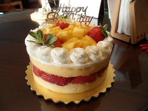 Fruit Birthday Cake The Best Birthday Cake CAKES Pinterest