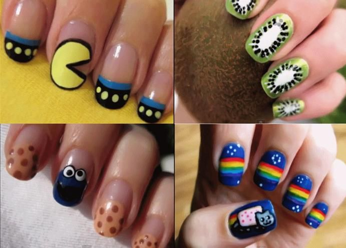 Cute polish designs must do manis pinterest makeup nails youtube nail art cute polish designs prinsesfo Image collections