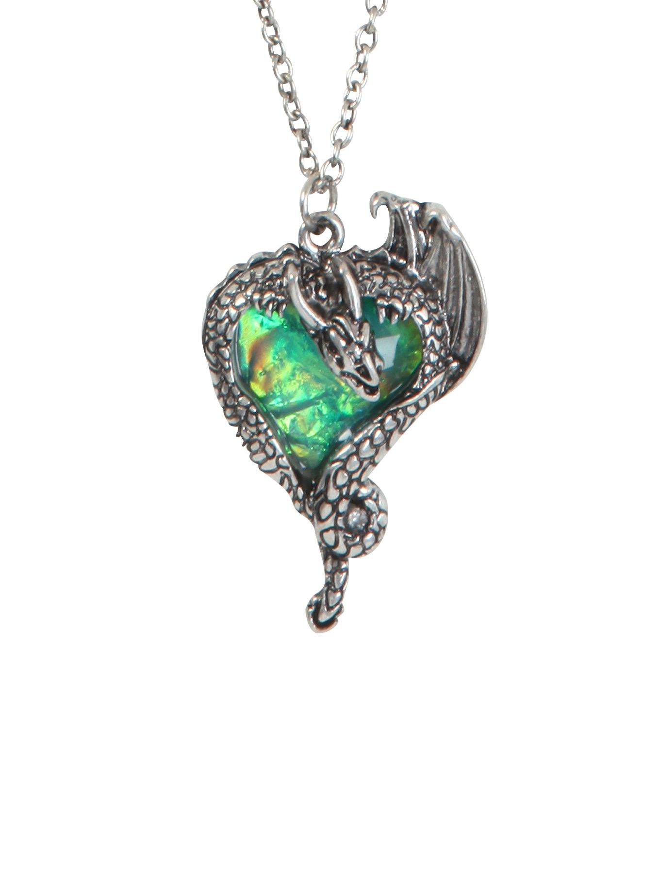 Lovesick gem heart dragon necklace hot topic jewelry pinterest lovesick gem heart dragon necklace hot topic mozeypictures Gallery