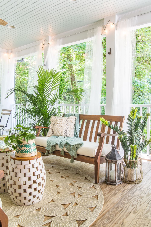 Boho Summer Back Porch Bless Er House Porch Furniture Porch