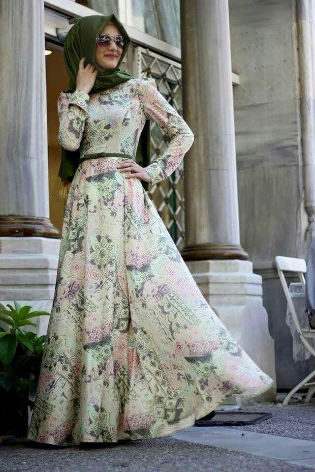 16a7c1aa0466c Z style ♥ Muslimah fashion & hijab style | Hijab Fashion | Çiçekli ...