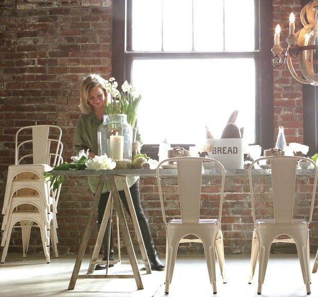 Omg In Love Vintage Cream Metal Chairs Set Of 2 Dining Room