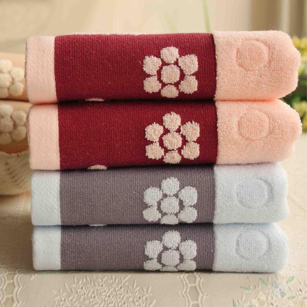100 Cotton Face Wide Towel Bath Towel Soft Cotton Beauty Towel