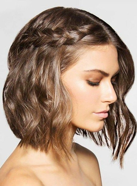 20 Hairstyles For Shoulder Length Medium Length Hair Styles Side Braid Hairstyles Medium Hair Styles