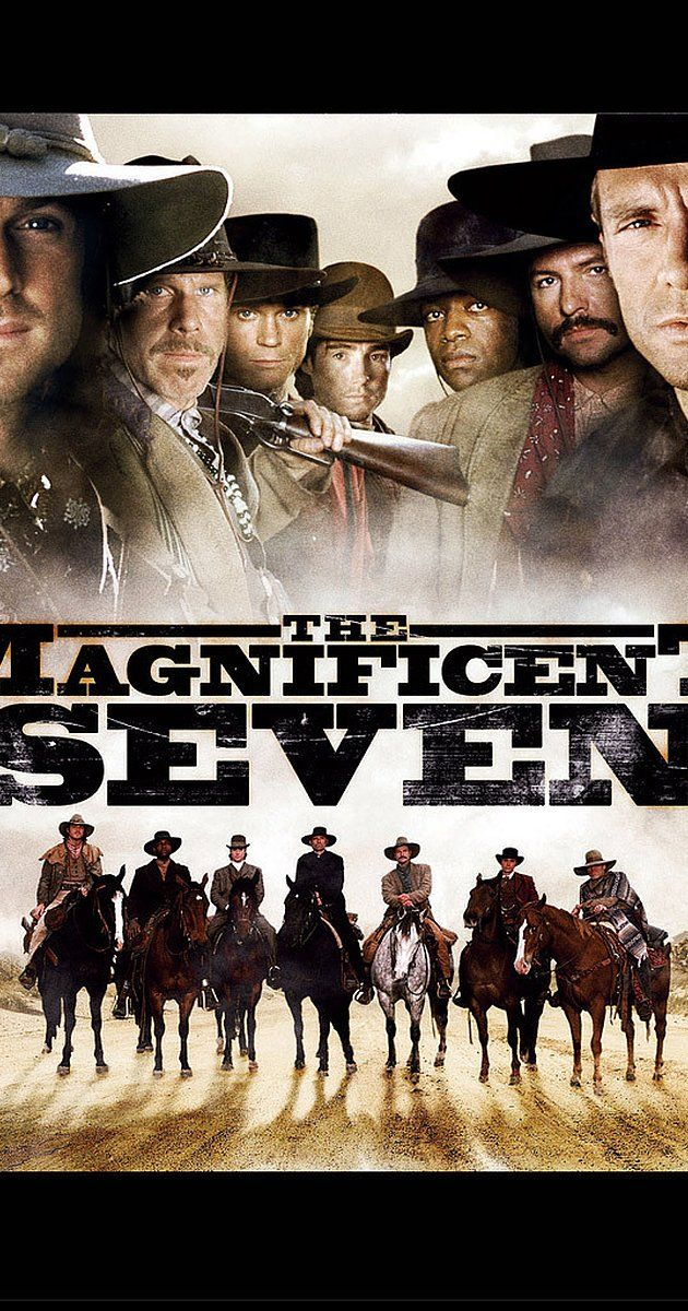 The Magnificent Seven Tv Series 1998 2000 On Imdb Movies Tv Celebs And More With Images Magnificent Seven Movie The Magnificent Seven Tv Series