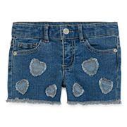 Arizona Embellished Shorty Shorts - Toddler Girls 2t-5t