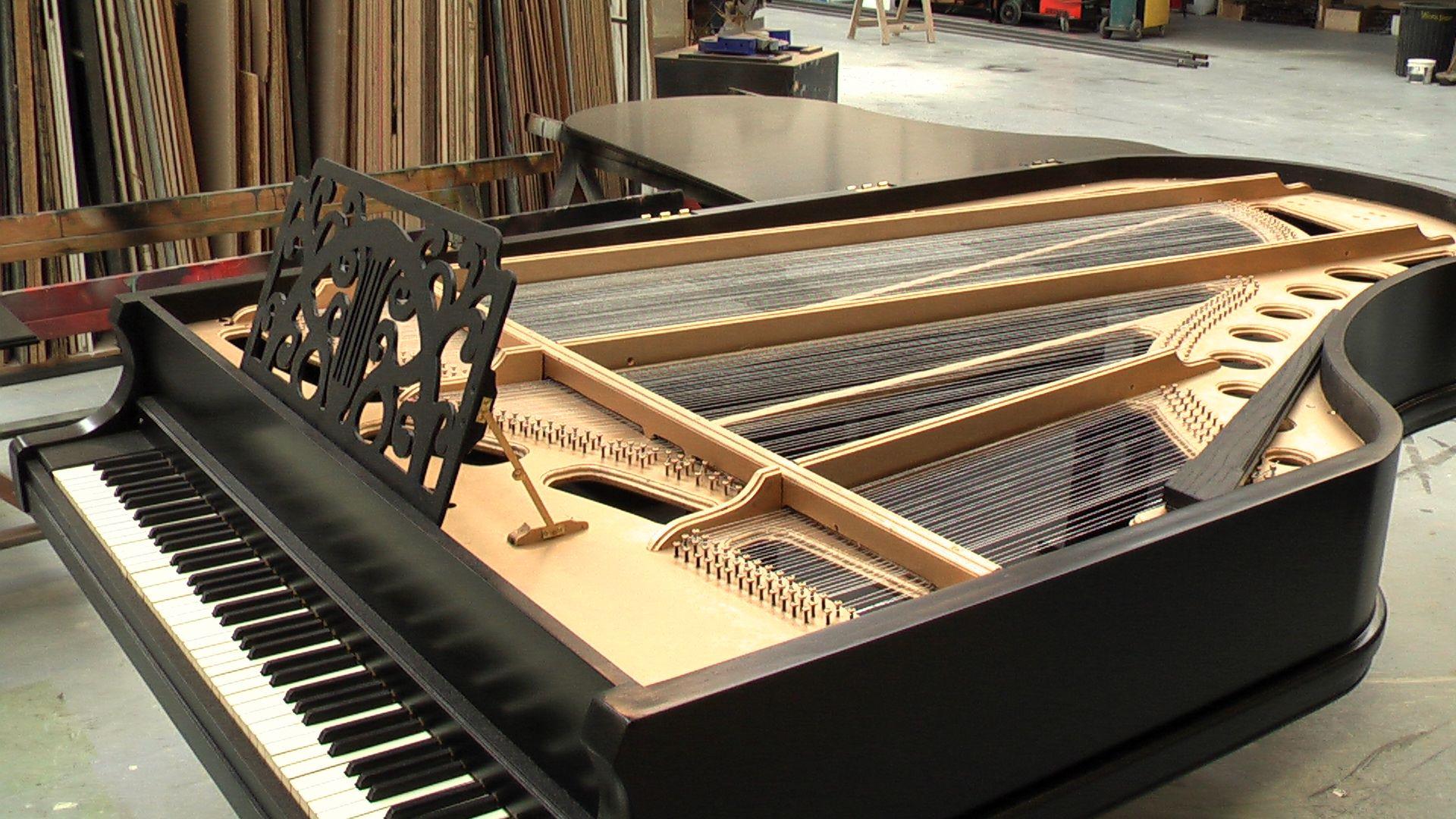 Full size Grand Piano Piano, Grand piano, Theatre set