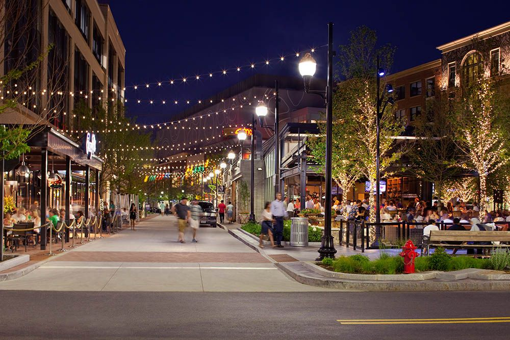 Boston Ma Assembly Row Phase 1 Streetscape Design