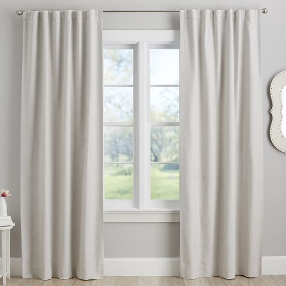Classic Linen Blackout Drape | Linens, Bedrooms and Bedroom remodeling