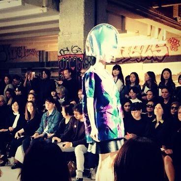 #paris #pfw #fashionshow #junyawatanabe #love #art #fashion #like #follow #style #rock