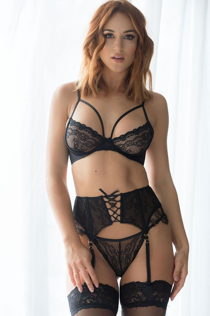 9c73f96bcf Rosie Jones - Page 3 in black lingerie - imgMAX - srxy lingerie ...