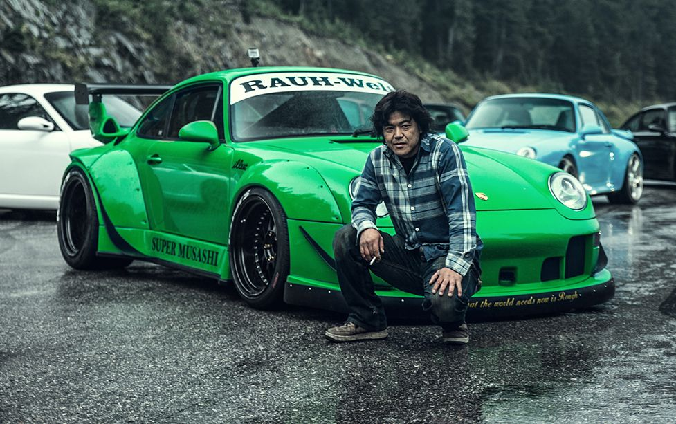 Targa Rwb Walpaper: Nakai-San With The Super Muasashi RWB Porsche 993