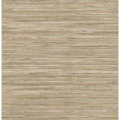 Brewster 56 sq. ft. Faux Grasscloth Wallpaper 14562622