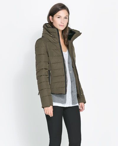 Image 2 of COMBINED PUFFER ANORAK from Zara   put a jacket on it ... f1b4c35cc026