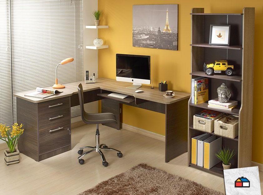 Muebles esquineros para optimizar tus espacios Biurko Pinterest