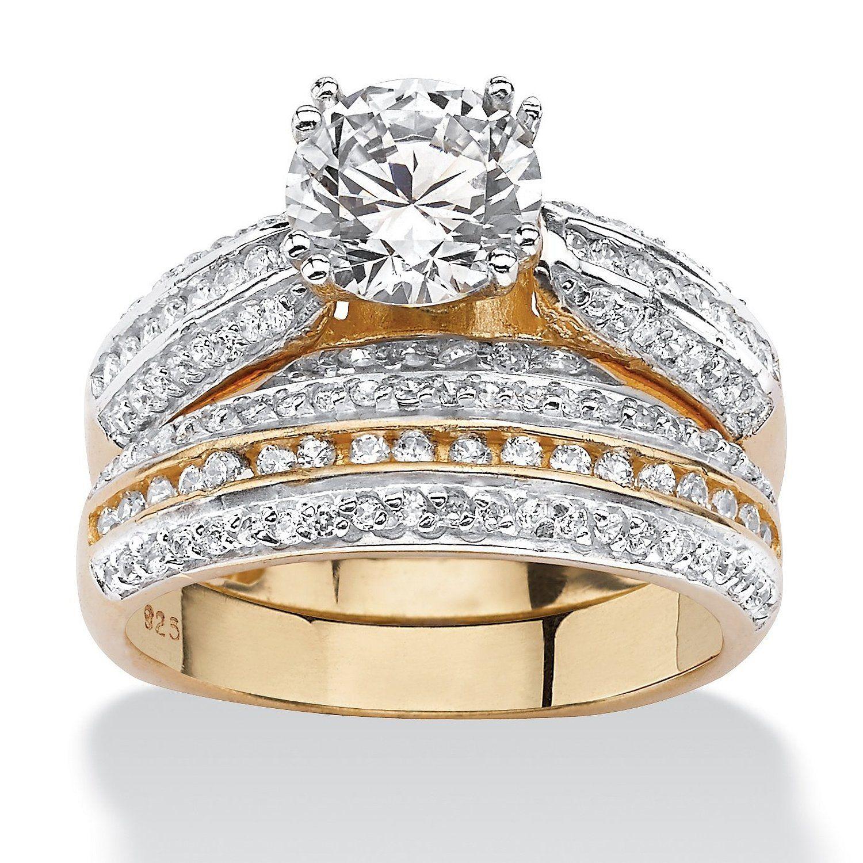 Amazon.es Juegos de anillos de boda Joyería Anillos de