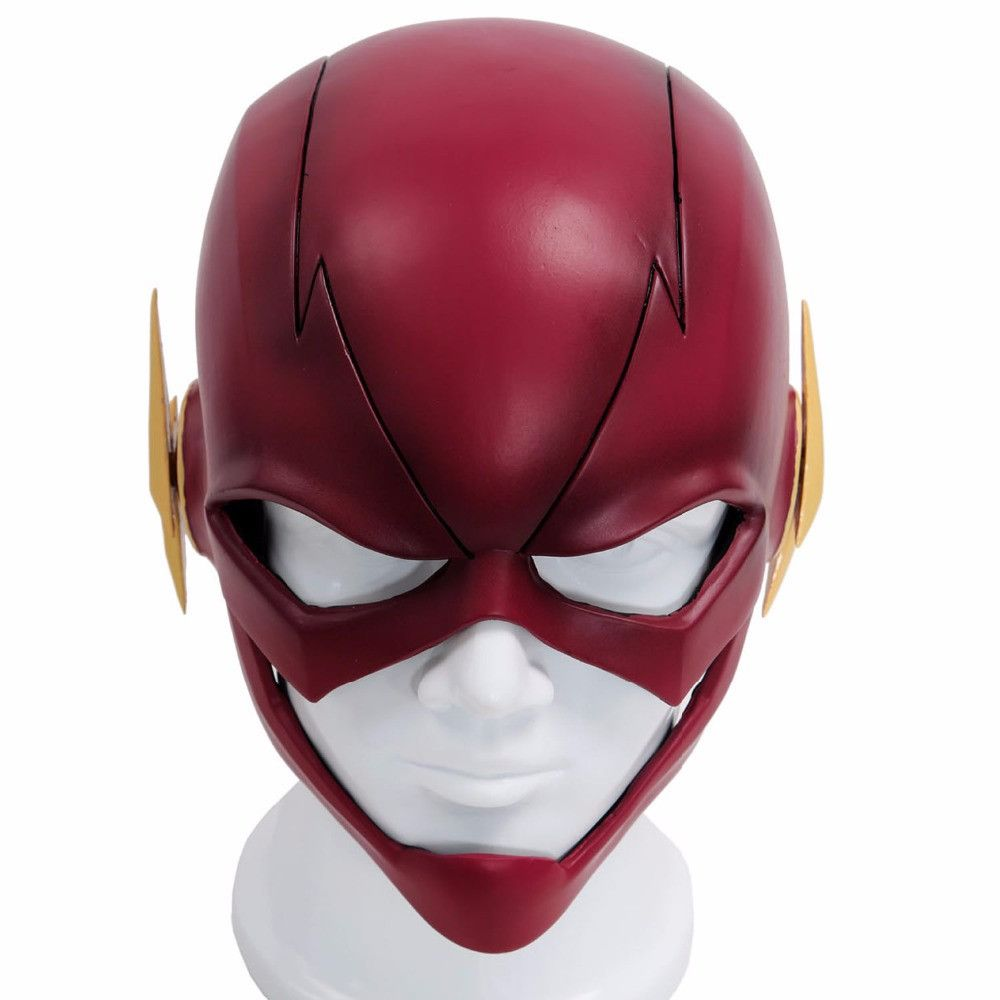 TV Series Adult Deluxe Latex Mask The Flash