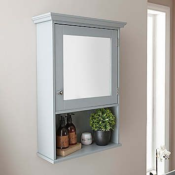 Cotswold Mirrored Bathroom Wall Cabinet Look Again Mirror Cabinets Wooden Bathroom Mirror Bathroom Wall Cabinets