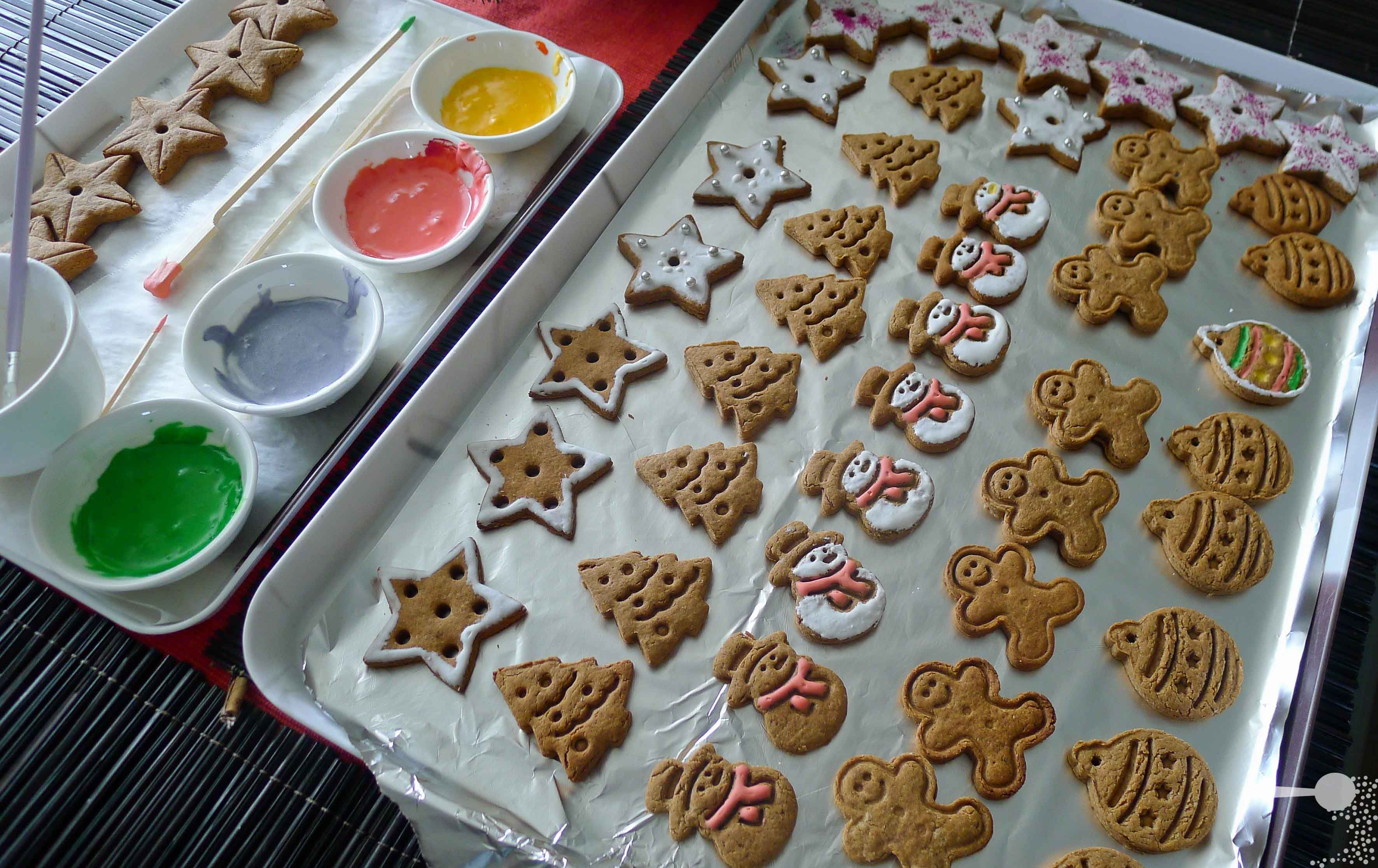 Gingerbread Spice Gingerbread Cookies and Gingerbread... Ice-cream! | Wholesome Cook