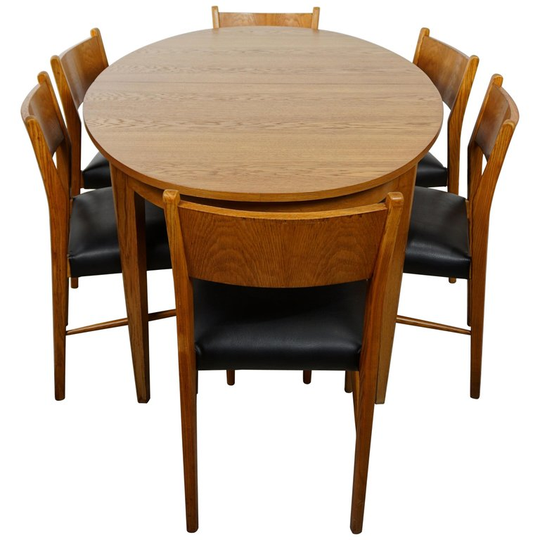 Fantastic 1Stdibs Dining Room Set 1960S Scandinavian Style Dining Ocoug Best Dining Table And Chair Ideas Images Ocougorg