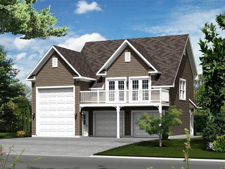Rv Garage Apartment Plan 072g 0035 An Ordinary Man