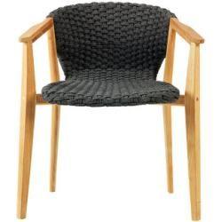 Photo of Knit Sessel / Synthetikfaden – Ethimo – Teak, natur,Gris Lave EthimoEthimo