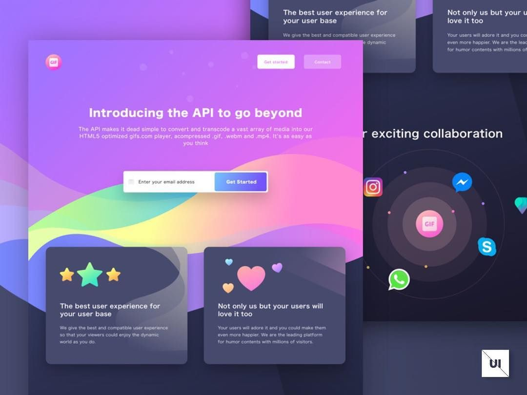What Do You Think Of This Api Page Design Tag A Fellow Designer Who Would Love It Design Mobile App Design Inspiration App Design Inspiration Learning Design