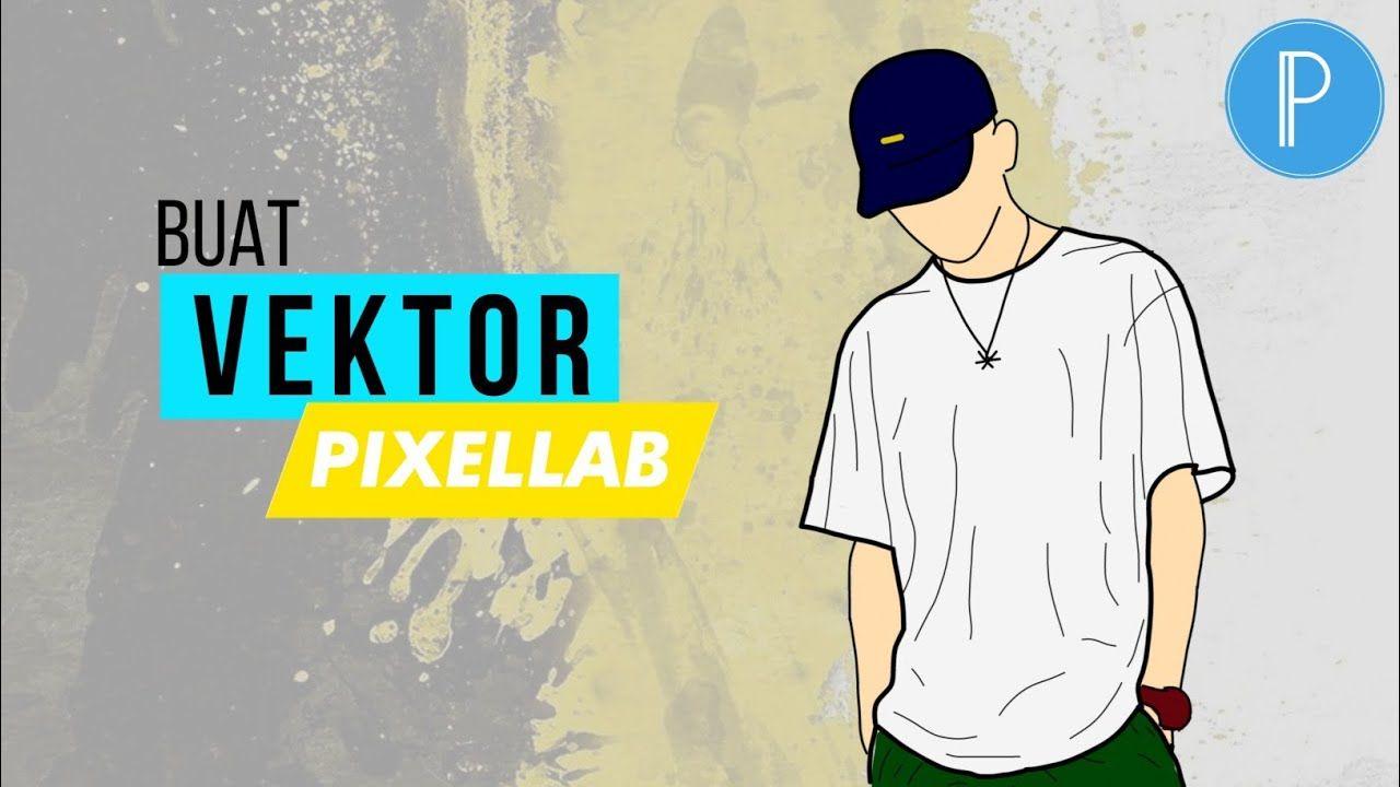 Pixellab Design Cara Membuat Vektor Kartun Ii How To Make Vector In Pixe Kartun
