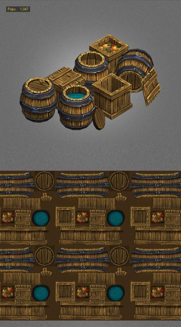 Semi reusable barrels/crates