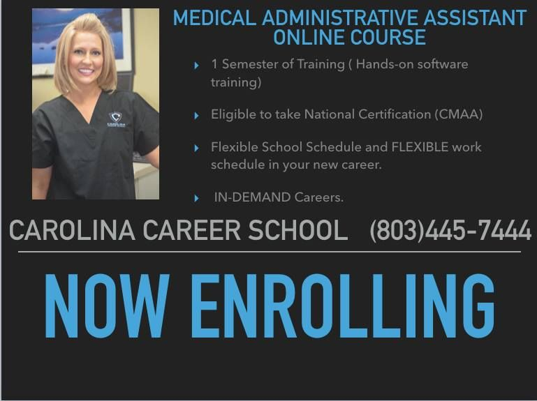 Pin By Carolina Career School On Medical Administrative Assistant