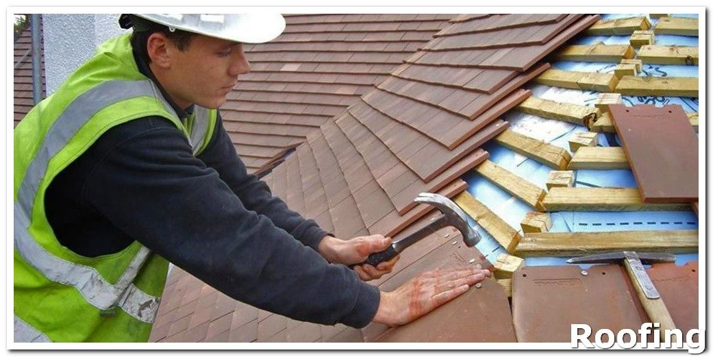 ** Roofing Materials ** Before a contractor begins work on