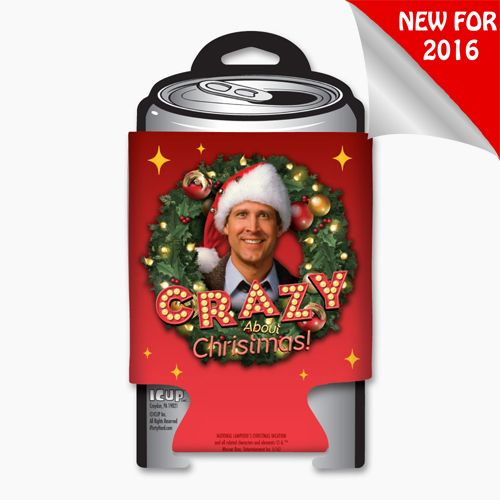National Lampoon's Christmas Vacation Crazy About Christmas Koozie 15587