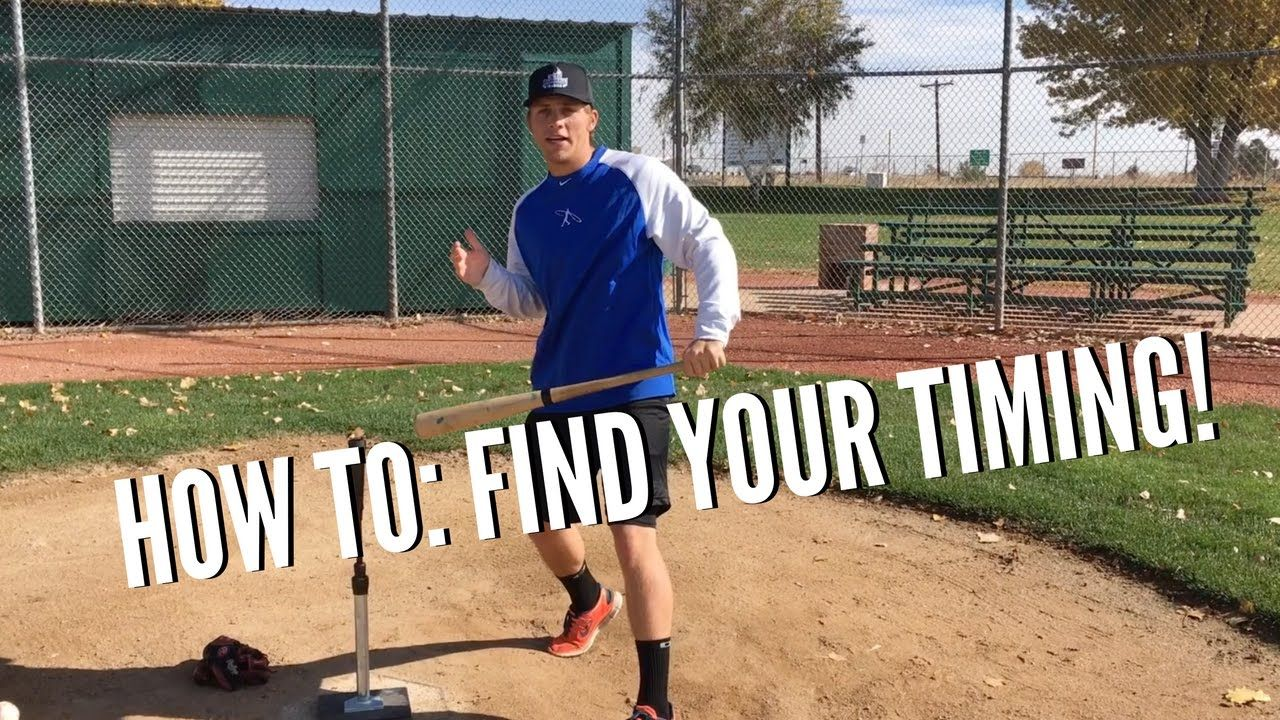 How To Find Your Timing Baseball Hitting Tips Youtube Baseball Hitting Baseball Workouts Baseball Mom Outfits