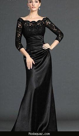 Dantel Abiye Elbise Modelleri 2016 Modaquaz Com Elbise Modelleri Siyah Dantel Elbiseler Aksamustu Giysileri