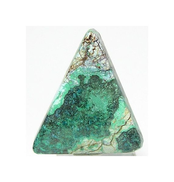 Blue Azurite Green Malachite Semiprecious Contour Polish Cabochon Morenci Arizona Southwestern Loose Gemstone DIY USA American Jewel
