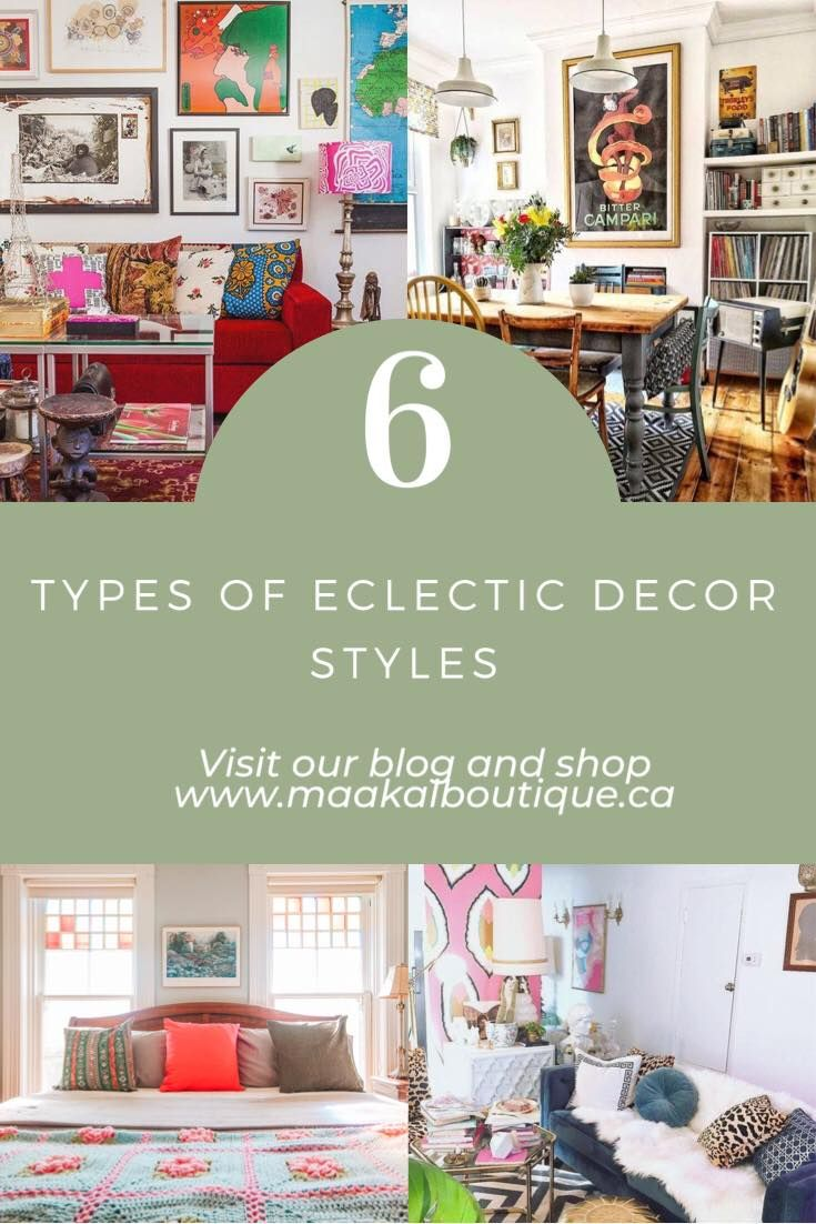 What type of eclectic home decor style suits you? Let's find out! Let's take a look at 6 eclectic styles!  #eclecticdecor #farmhousedecor #eclecticdesign #pillowshop #eclecticlivingroom #homedecorideas #eclectichome #eclectichomedecor #eclecticfarmhouse #glameclecticdecor #moderneclecticdecor