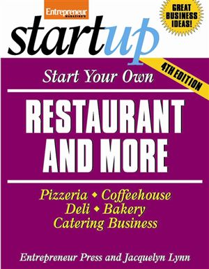 Start Your Own Restaurant And More Books To Read