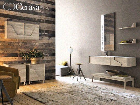 Cerasa riscopre il vintage in tinta naturale con il bagno free