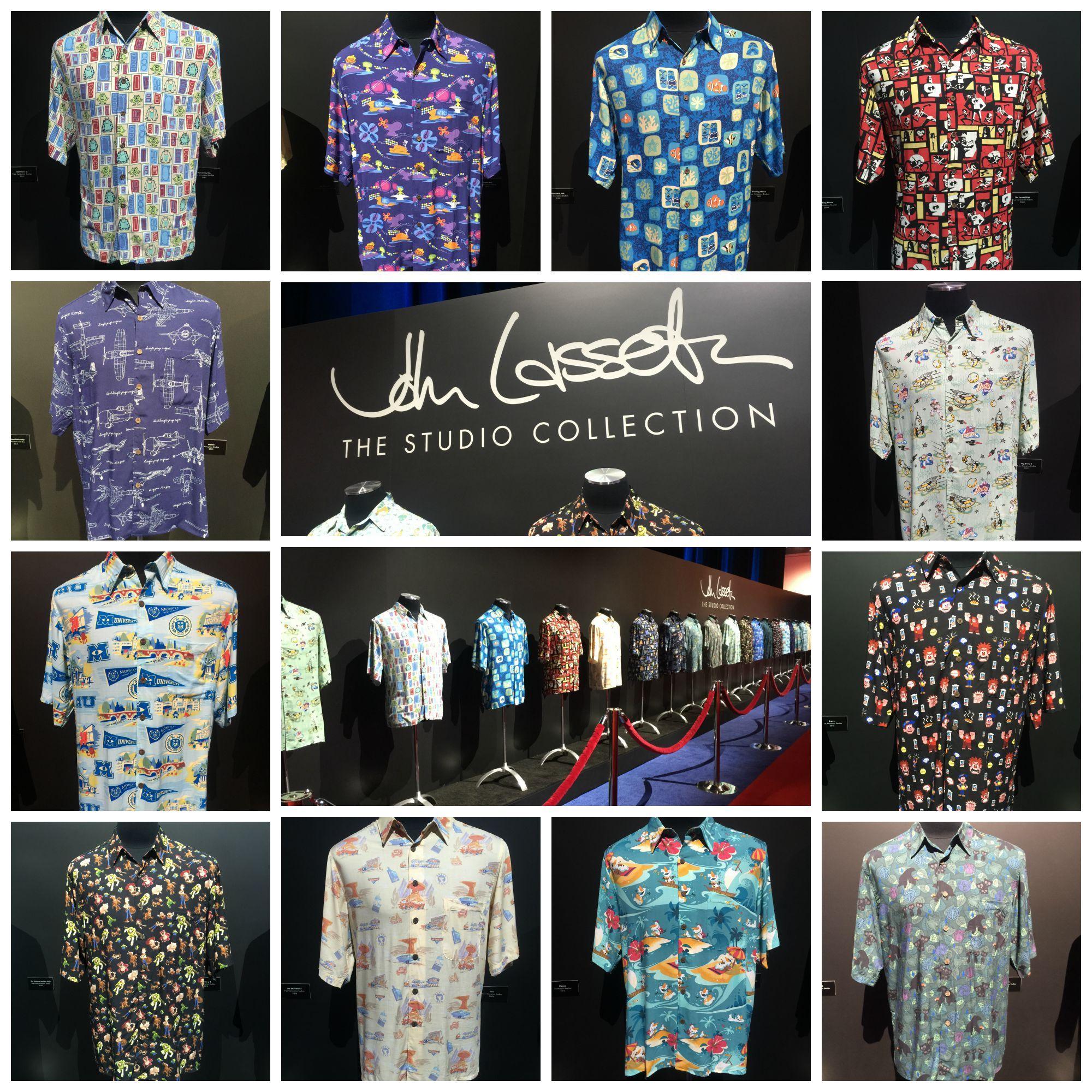 John Lasseter s Studio Hawaiian Shirt Collection. I would love these Disney  Hawaiian shirts for costumes. b5dd8958d