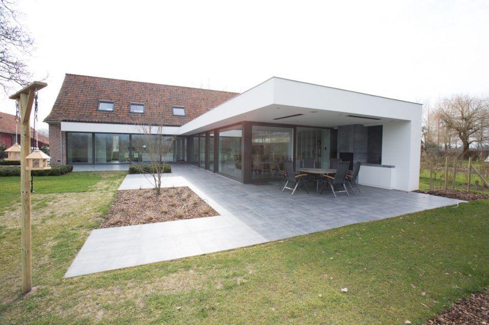 Interieurburo claeys & verbeke verbouwing hoevewoning huizen