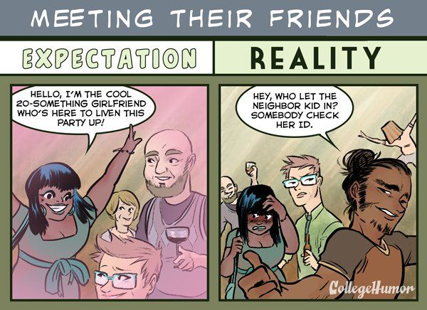 Dating your best friend expectation reality pictures