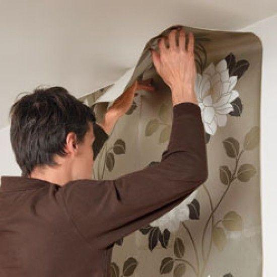 Tutoriel : comment poser du papier peint chez soi ? en 2020 | Poser du papier peint, Papier ...
