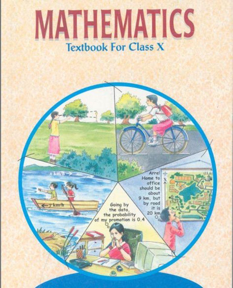 Ncert Books For Class 10 Maths Math Books Fun Math Learning Math