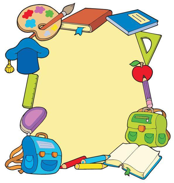Palabras clave: caricaturas, útiles escolares, lápices, cuadernos ...